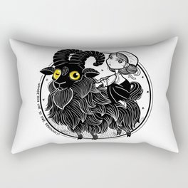 Black Phillip Rectangular Pillow