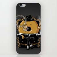 gangster iPhone & iPod Skins featuring Gangster Donut by Javier Ramos