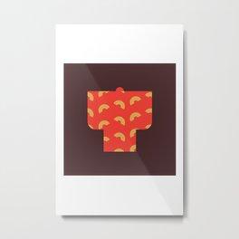 Japan Kimono Metal Print