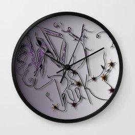 Lady Punk Wall Clock