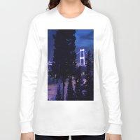 bridge Long Sleeve T-shirts featuring bridge by gzm_guvenc