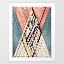 """Gordon Belot, """"Ten Weird Things about de Sitter Spacetime"""" Art Print"""