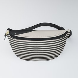 Woodblock Art, Mid Century illustration Fanny Pack