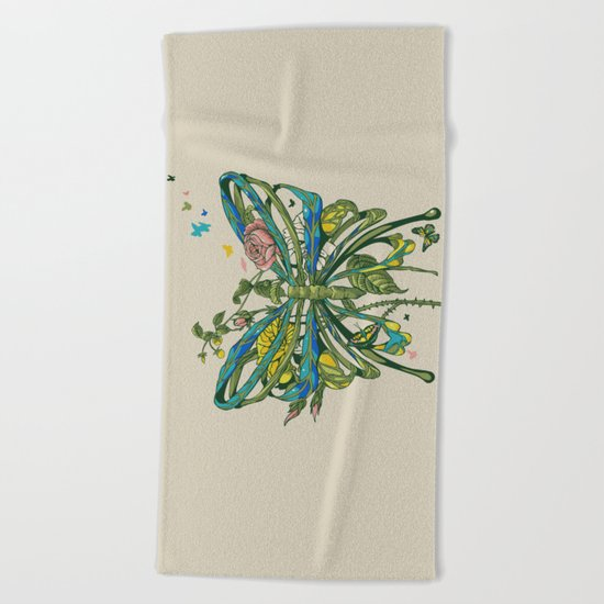 Lifeforms Beach Towel