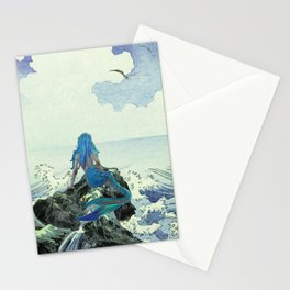Beauty Mermaid Stationery Cards