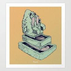 BLORP Art Print