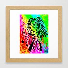 Rocker Chic Framed Art Print