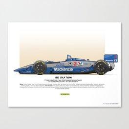 #2 LOLA - 1993 - T9300 - Goodyear Canvas Print