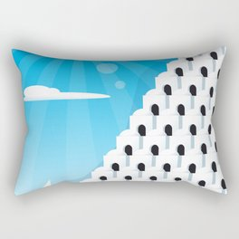 White houses Rectangular Pillow