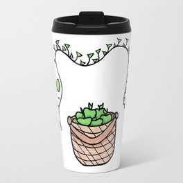 Snake and Apples Travel Mug
