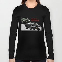 Ford Mustang and Dodge Charger from Bullitt Long Sleeve T-shirt