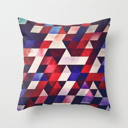 ryd whyte blww Throw Pillow