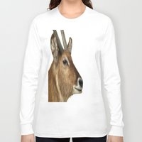 elk Long Sleeve T-shirts featuring Elk by Raymond Earley