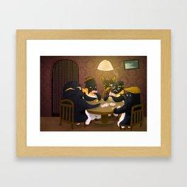 Poker Framed Art Print