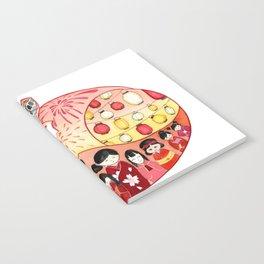 Japanese Summer Fox Notebook