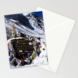 Thorung La Pass, Annapurna Circuit, Nepal Stationery Cards