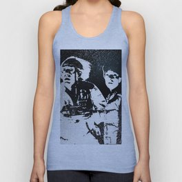 Roads? Where we're going, we don't need roads Unisex Tank Top