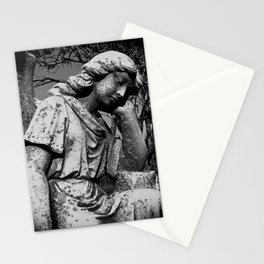 Angel Of The Mourning Stationery Cards