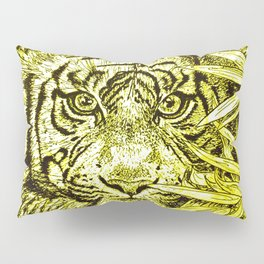 tiger - king of the jungle Pillow Sham