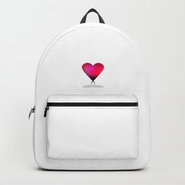 A Strong Heart: Pink Backpack