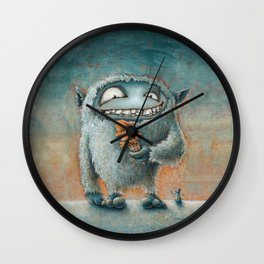 Yeti Beti Wall Clock