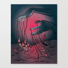 Tsunami Monger Canvas Print