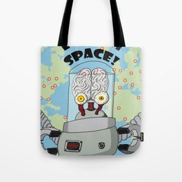 Brains From Space Tote Bag