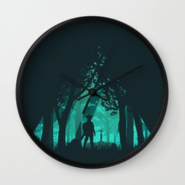 It's Dangerous To Go Alone Wall Clock
