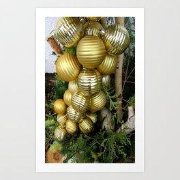 Christmas decorations Art Print