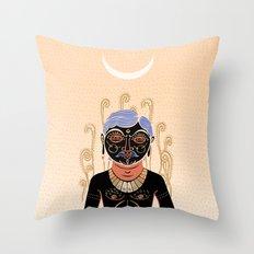 Indian Man Throw Pillow