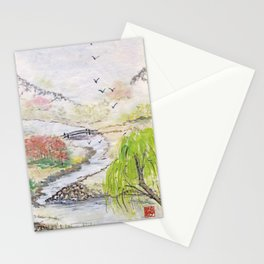 Bridge to Serenity Stationery Cards