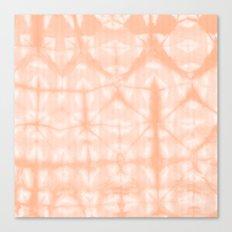 Tie Dye 2 Peach Canvas Print