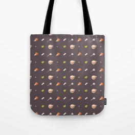 Icing Cookie Pattern_Dark Tote Bag