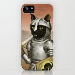 Fighter Cat iPhone Case