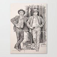 Butch cassidy and the sundance kid 2 Canvas Print