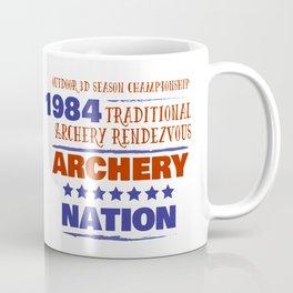 1984 ARCHERY NATION Coffee Mug