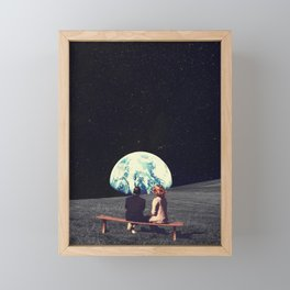 We Used To Live There Framed Mini Art Print