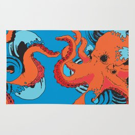 Release the Kracken Octopus Rug