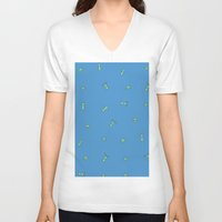 arnold V-neck T-shirts featuring Hey Arnold Remix by hellostranger