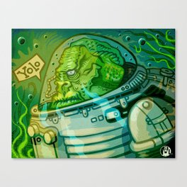 Fishmonkey Canvas Print