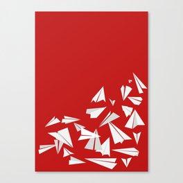 Paper Planes Canvas Print