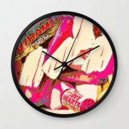 Mmm sweets Wall Clock