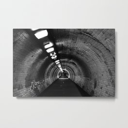 Beneath the Thames Metal Print
