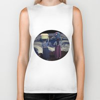 planet Biker Tanks featuring Planet by Cs025