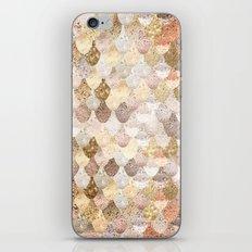 MERMAID GOLD iPhone & iPod Skin