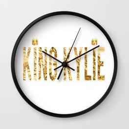 KING KYLIE - G Wall Clock