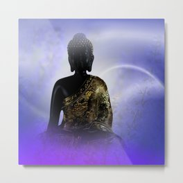 silence and meditation -2- Metal Print