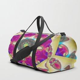 Guardians Of The Void Mandala 12 Duffle Bag