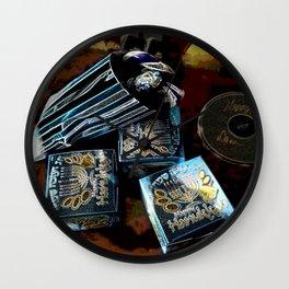 Happy Hanukkah DPGPA151024a Wall Clock