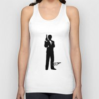 bond Tank Tops featuring JAMES BOND by alexa